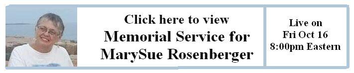 MarySue Memorial Service Link